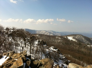 The View From Stony Man Summit.